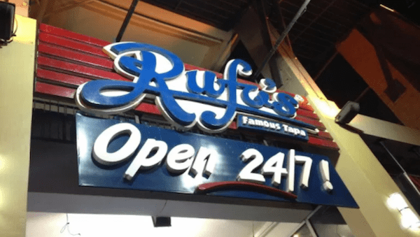 Rufo's And Their Famous Tapa (In Celebration Of Its 33rd Anniversary) | Skip The Flip