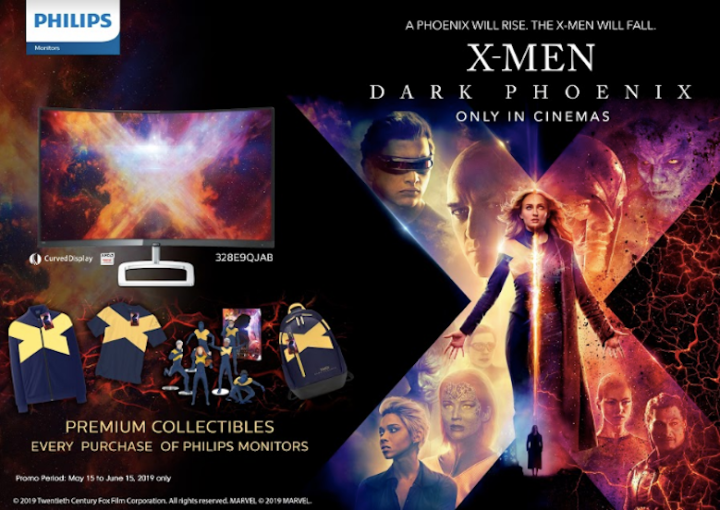 The Philips Monitors And X-Men Dark Phoenix Promo | Skip The Flip