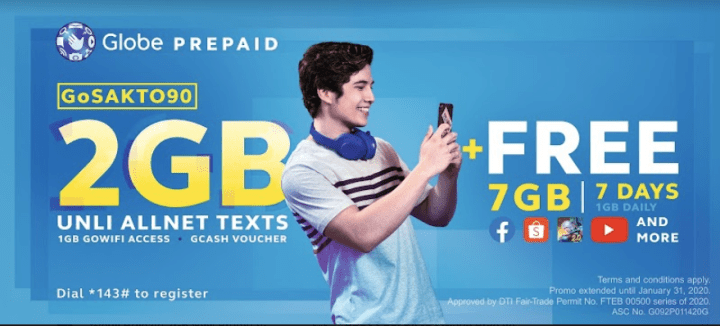 Globe Prepaid Gives Customers More Boost With GoSAKTO And GoSURF Promos | Skip The Flip