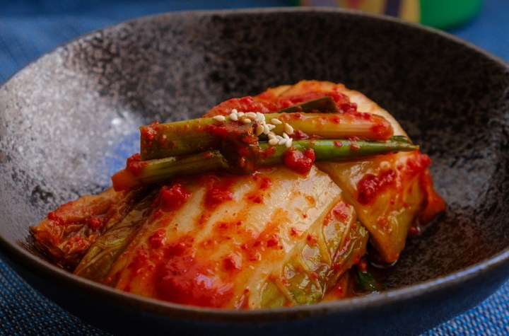 For Koreans, not having rice for a meal is like not having eaten at all. The favorite supplement to rice is Kimchi. | Skip The Flip