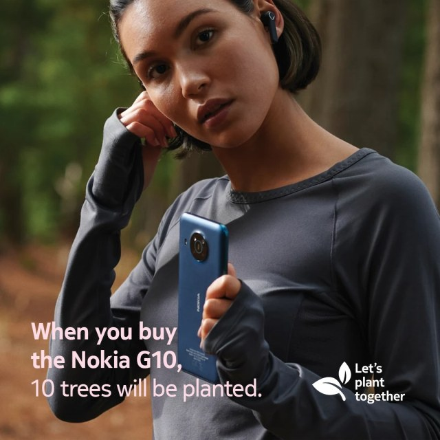 When you buy the Nokia G10, 10 trees will be planted! | Skip The Flip