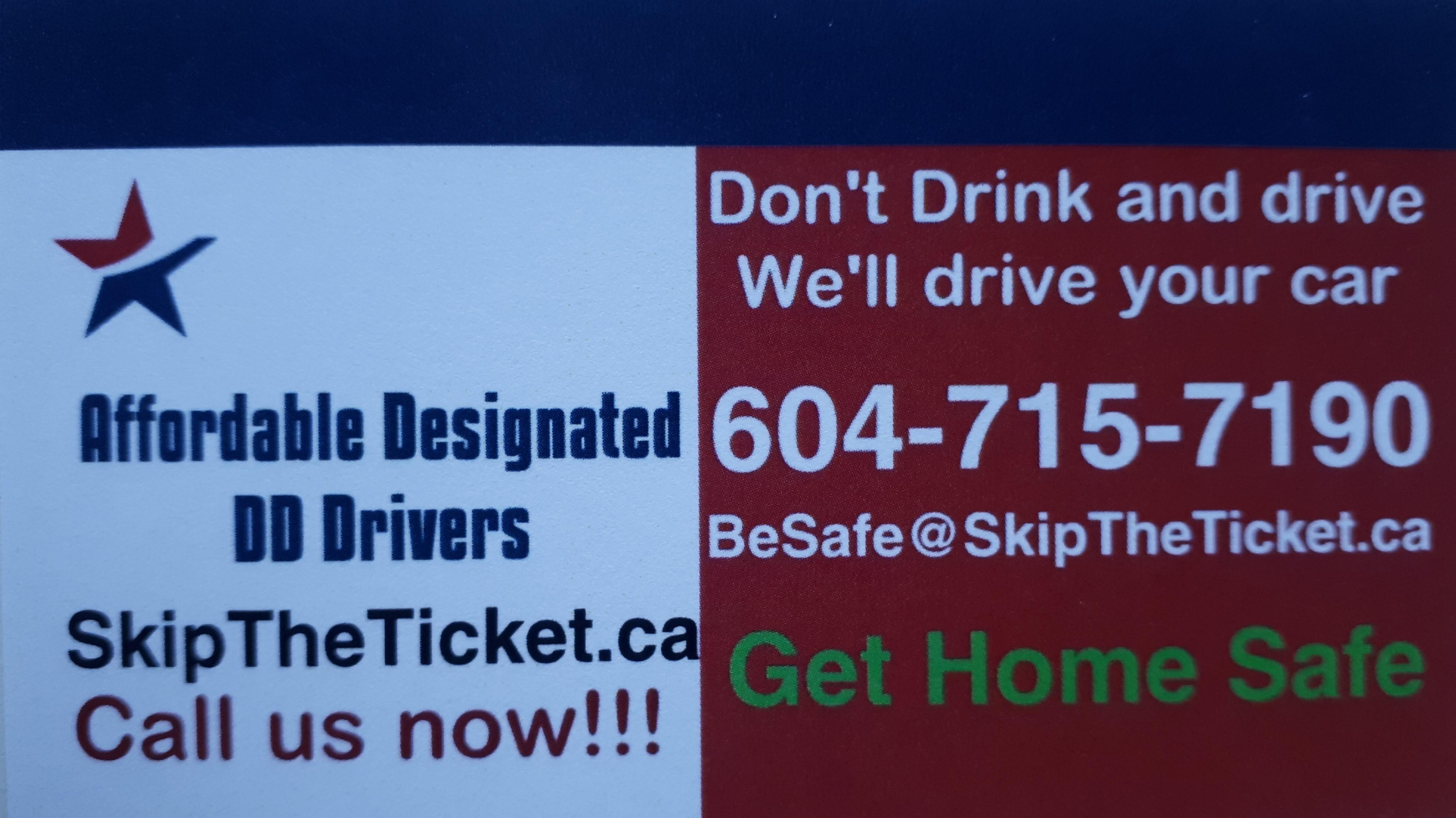 Designated Driver Service