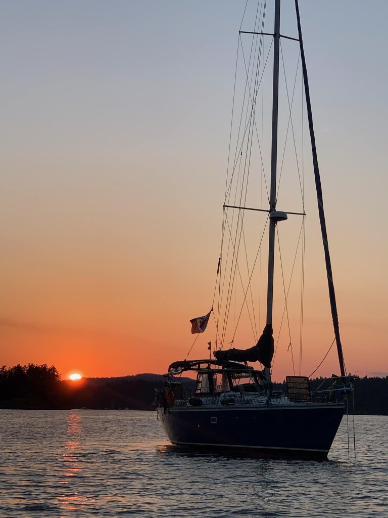 Sailboat charter in Vancouver, Victoria and Salt Spring Island