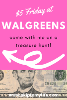 Come on a treasure hunt to Walgreens and learn something about yourself.