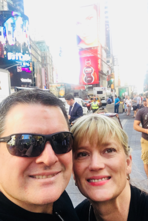 We celebrated Empty Nest with a trip to NYC.