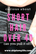 Curious about short hair over 40? Here's the information you need to make a decision.