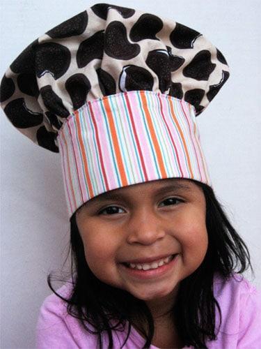 Child Chef Hat Pattern : child, pattern, Child's