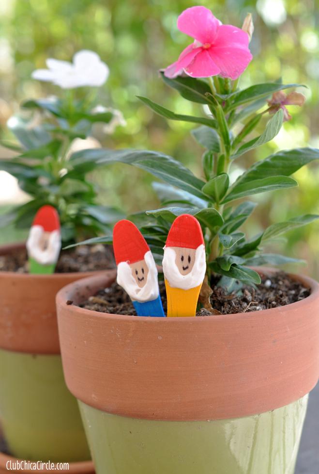 Garden Gnome Craft Sticks Diy  Skip To My Lou