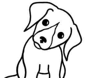 draw dog easy copy lou skip