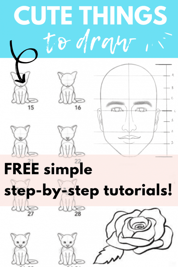 Step By Step Things To Draw : things, Things, Printable, Guides