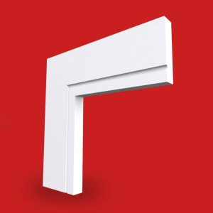 sqaure single c grooved architrave profile