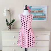STD9407SS Skirtista Geo Print Dress
