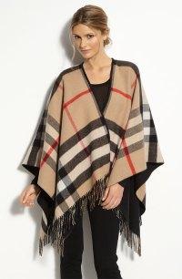 burberry-big-check-merino-wool-cashmere-ruana | Work That ...