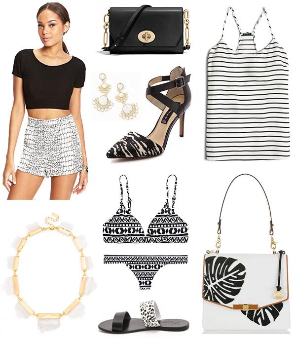 Black and White Summer Essentials