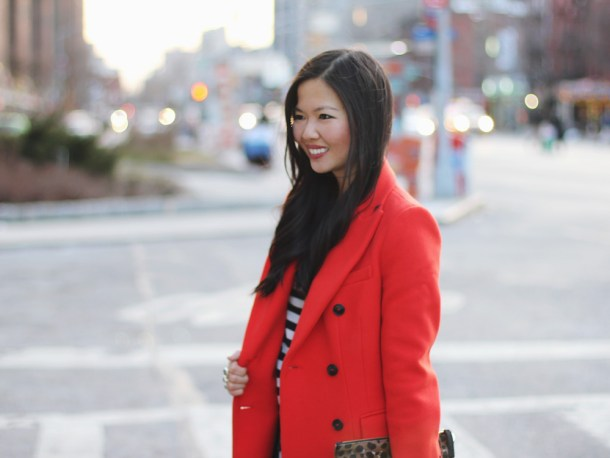 Zara Red Coat