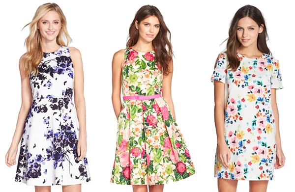 Skirt The Rules // Spring Floral Dresses