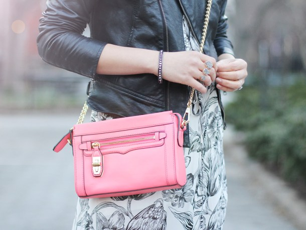 Skirt The Rules // Coral Crossbody Bag