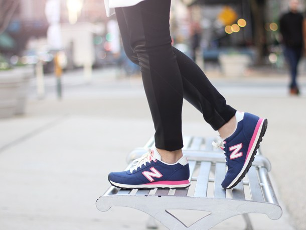 Skirt The Rules // New Balance 501 Sneakers