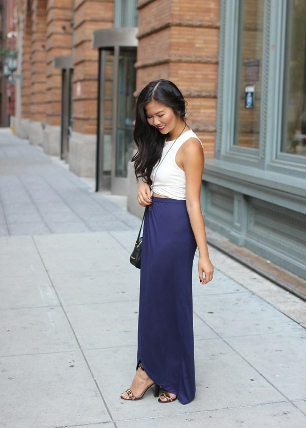 Skirt The Rules // Crop Top & Maxi Skirt