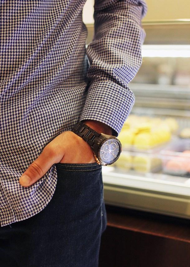 Skirt The Rules // Men's Ceramic Watch
