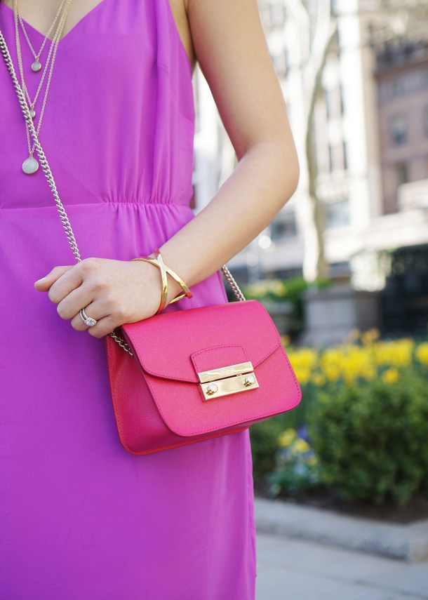Skirt The Rules / Orchid & Fuschia Outfit