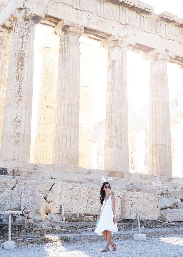 Skirt The Rules / Acropolis in Athens, Greece