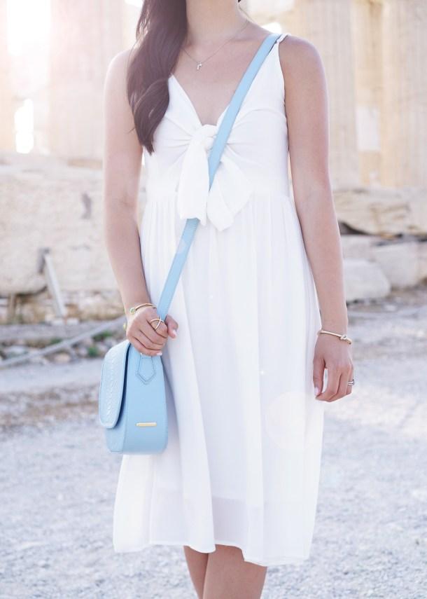 Little White Dress for Summer 2016