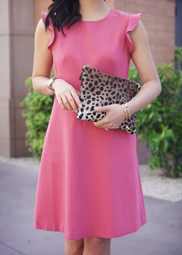 Skirt The Rules / Pink Flare Dress and Leopard Dress