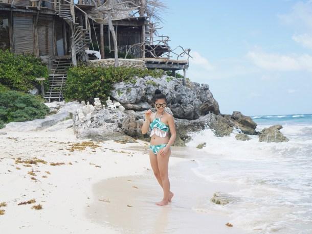 Summer 2017 Swimwear / Palm Print Bikini