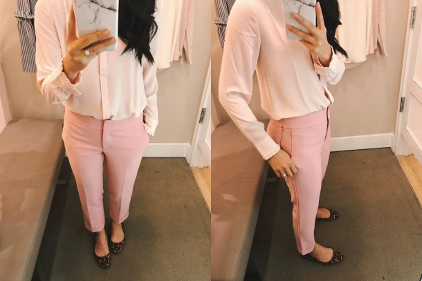 Pink on Pink Work Outfit