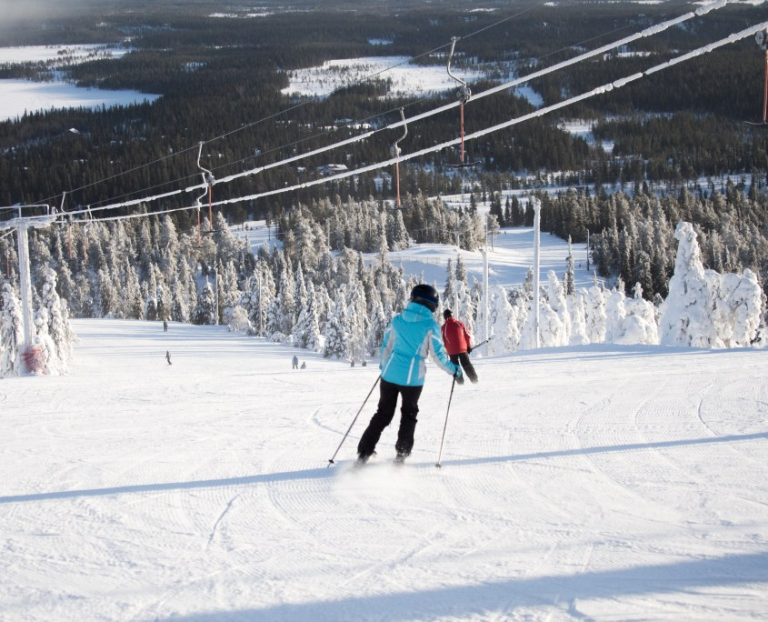 Best spring skiing in Europe Ruka