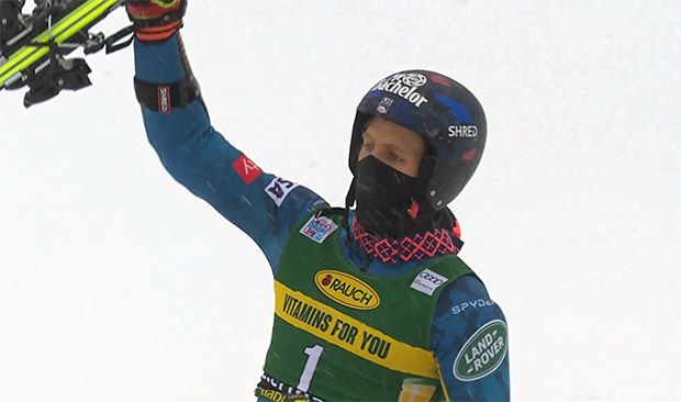 Tommy Ford On The Podium With New Skis In Santa Caterina De24 News English