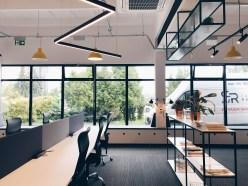 Wnętrze biura serwisowanego w Składzie Kreatywnym