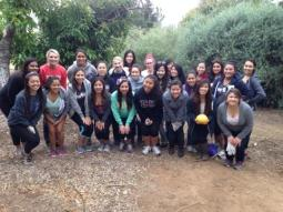 Theta Epsilon and I at the Botanical Garden