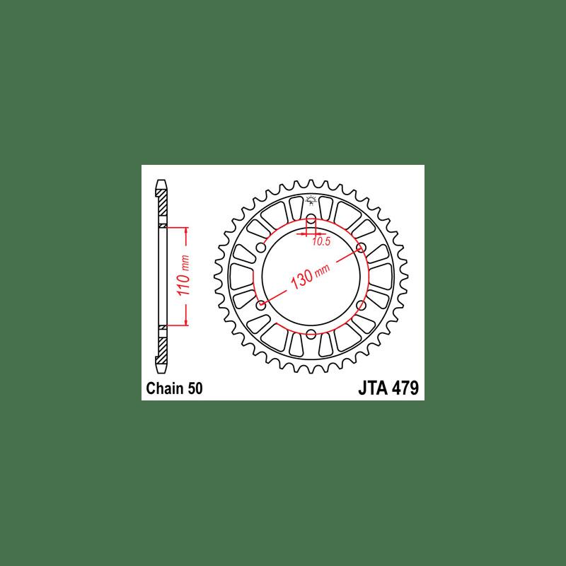 Zestaw napędowy DID ZVMX / JT Suzuki GSXR 1000 09-15