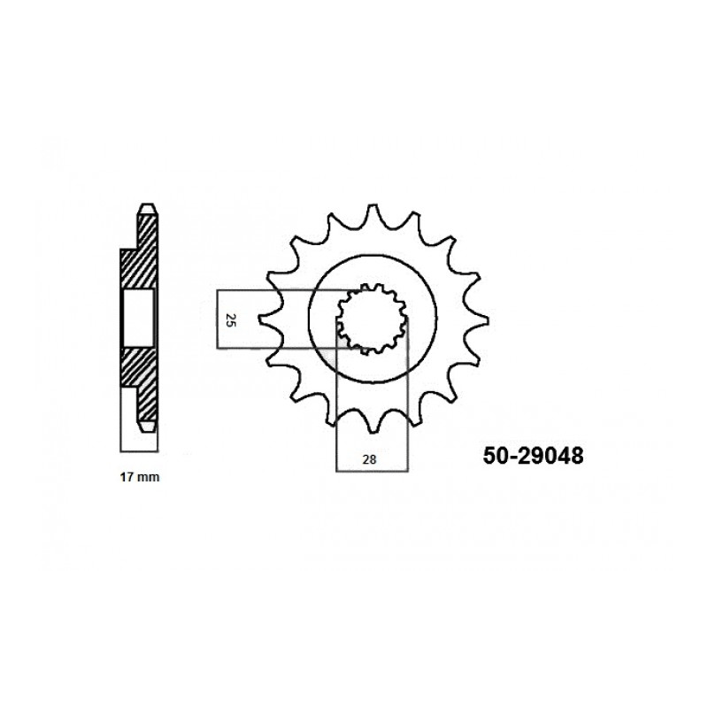Zestaw napędowy RK Ducati 1199 / 1199 S / 1199 R Panigale