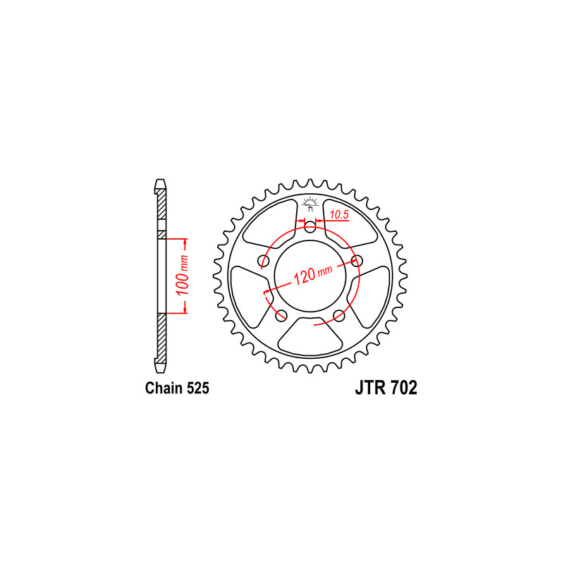 Zestaw napędowy DID ZVMX / JT Aprilia RSV 1000 R / 1000 R