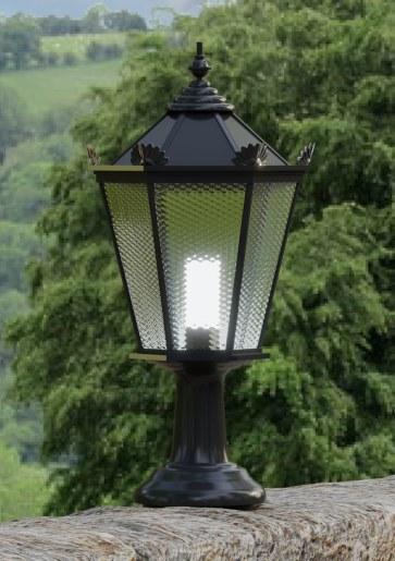 Latarnia ogrodowo-parkowa AM1 (kolor RAL9005)