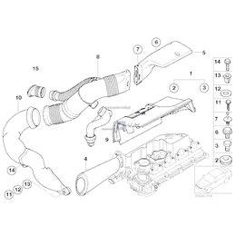 13712246997 Filtr powietrza BMW E46 E39 E60 E90 E87 320d