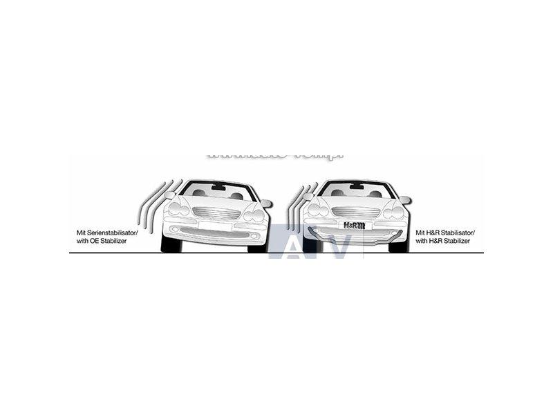 33480-1 Stabilizatory sportowe przód i tył BMW E46 316i