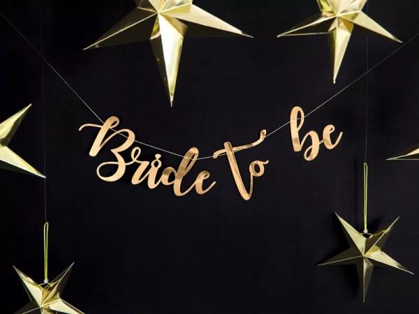 GIRLANDA BRIDE TO BE 3