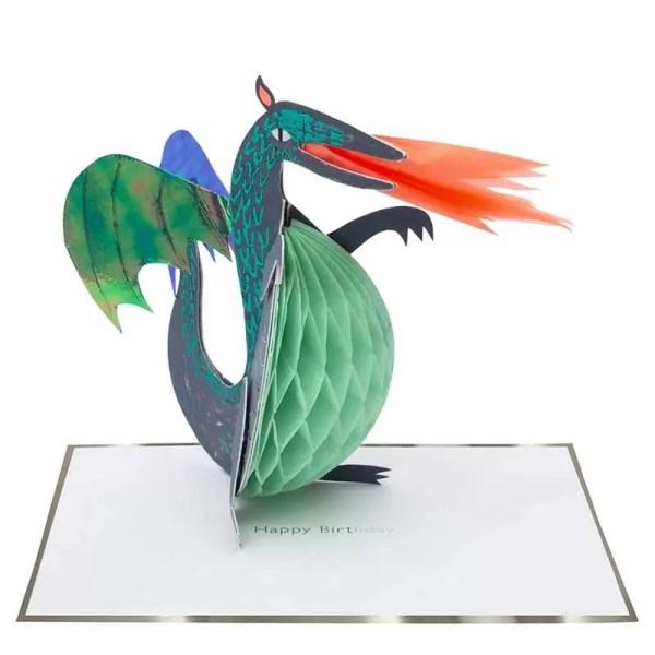 KARTKA URODZINOWA 3D SMOK MERI MERI 1