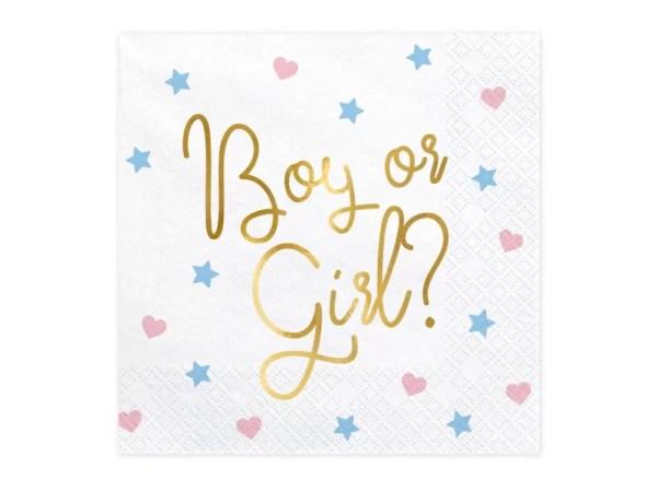 SERWETKI BOY OR GIRL 4