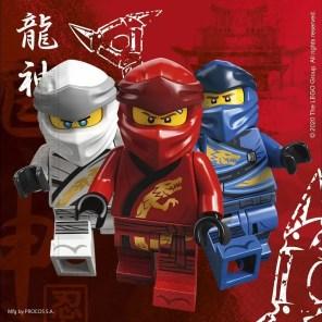 SERWETKI LEGO NINJAGO
