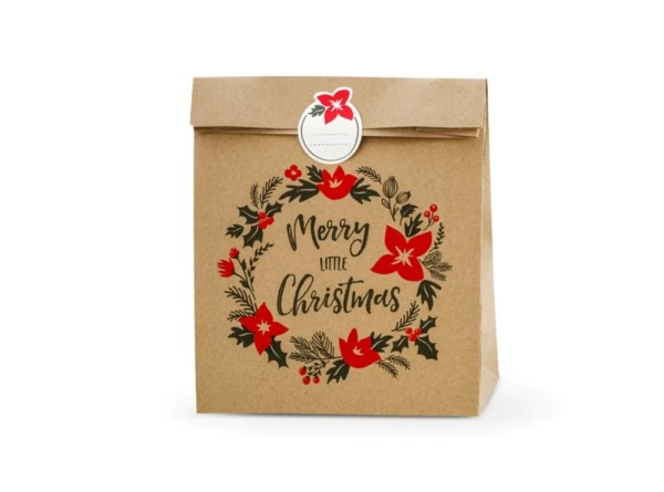 TOREBKI MERRY LITTLE CHRISTMAS 25x11x27 CM 2