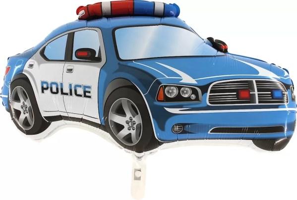 BALON POLICJA NIEBIESKA 55 CM