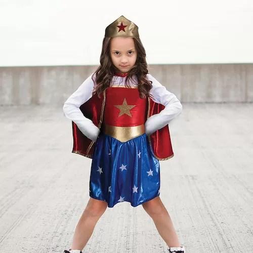 KOSTIUM SUPERHERO GIRL 5 - 6 LAT 2