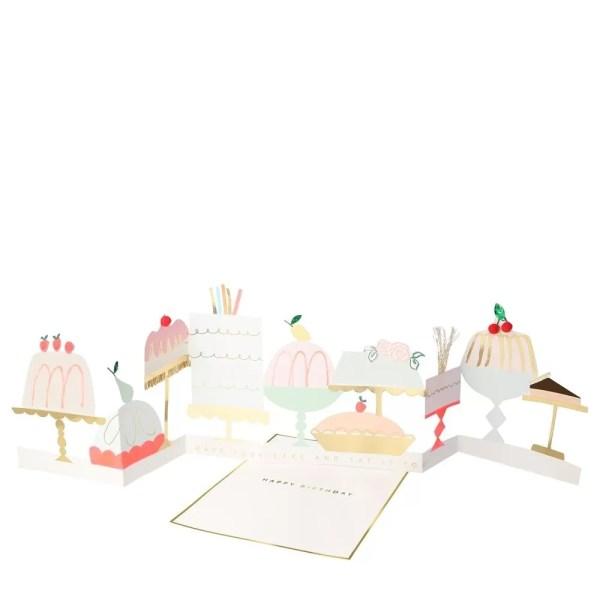 KARTKA URODZINOWA 3D CUKIERNIA MERI MERI 2