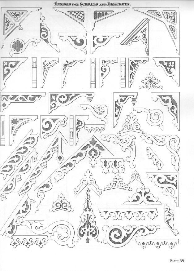 Victorian Architectural Details » sklep.drewno.pl