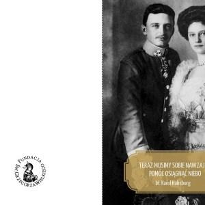 """Kartka ślubna """"Karol i Zyta"""""""
